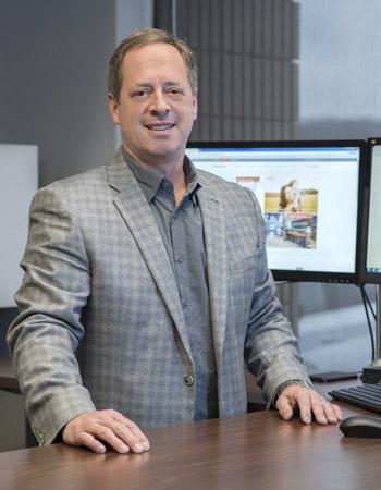 Commercial Environments CFO, Alan Sims