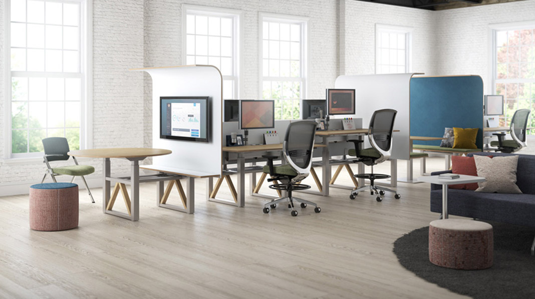 Office furniture installations big and small that are quick and efficient