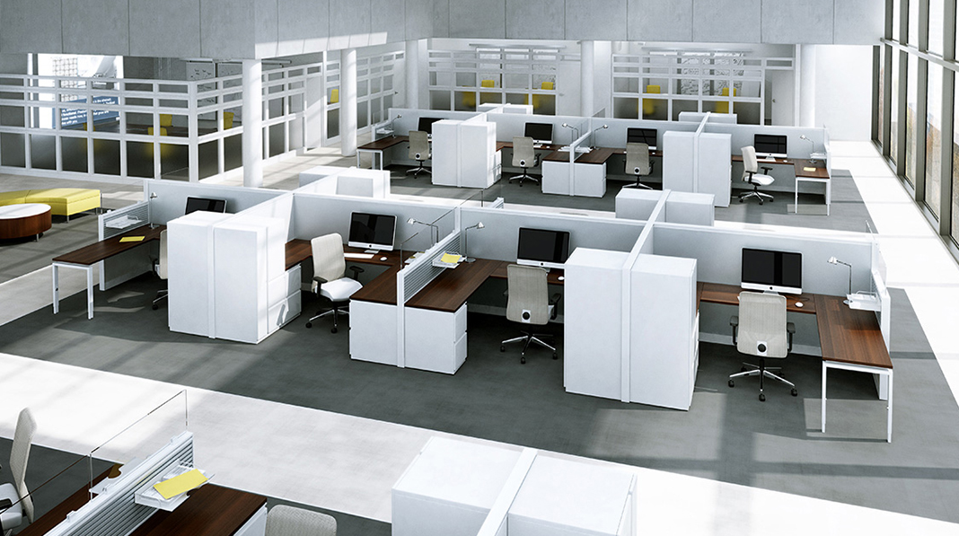 Solutions for office furniture reconfiguration that reflect your evolving needs
