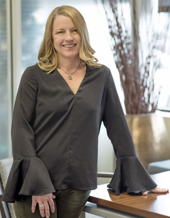 Commercial Environments General Manager, Jennifer Ridner