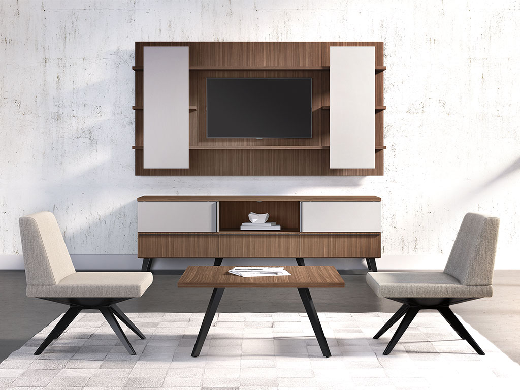 New, modern furniture can help update your space plus also streamline your workflow.