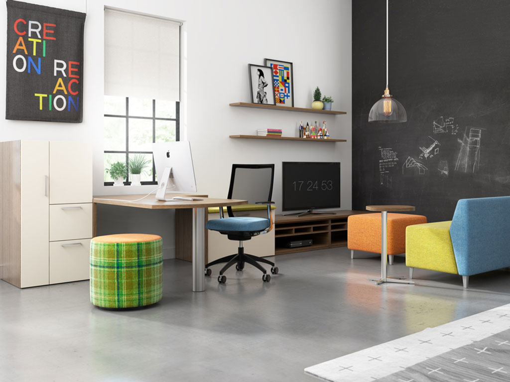 An organized, clutter-free office helps you be more productive and organized